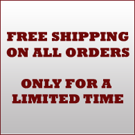 Free Shipping on All Orders for  a Limited Time