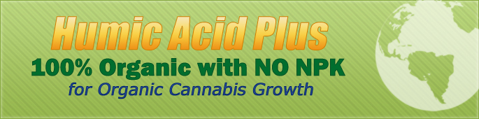 Humic Acid Plus for Organic Cannabis Growth