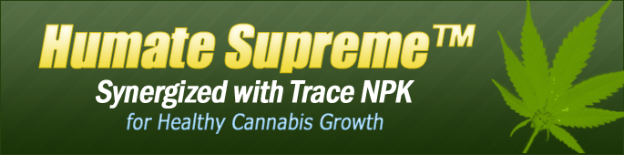 Humate Supreme for Healthy Cannabis Growth